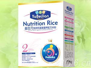 益生元铁锌钙蛋黄营养配方米粉