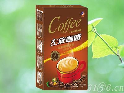 左旋咖啡巧克力味纸盒