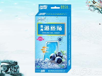 冰护士医用退热贴水果香型系列蓝莓
