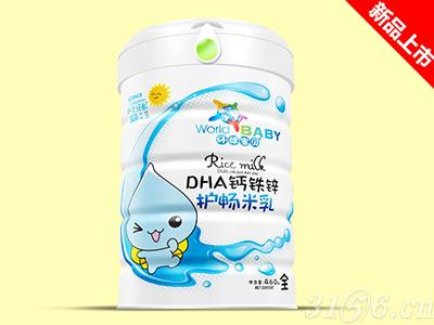 DHA钙铁锌护畅米乳—可以吸着吃的米乳
