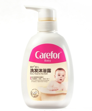 爱护婴儿洗发沐浴露
