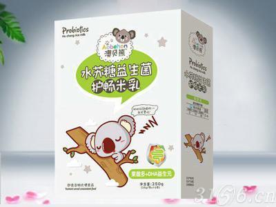 水苏糖益生菌护畅米乳 果蔬多+DHA益生元