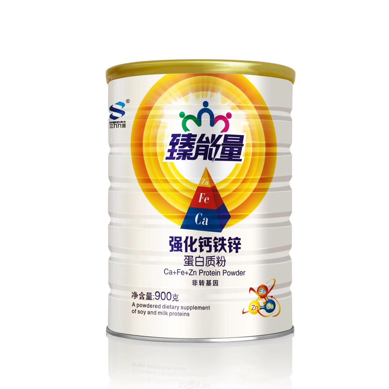 臻能量強化鈣鐵鋅蛋白質粉