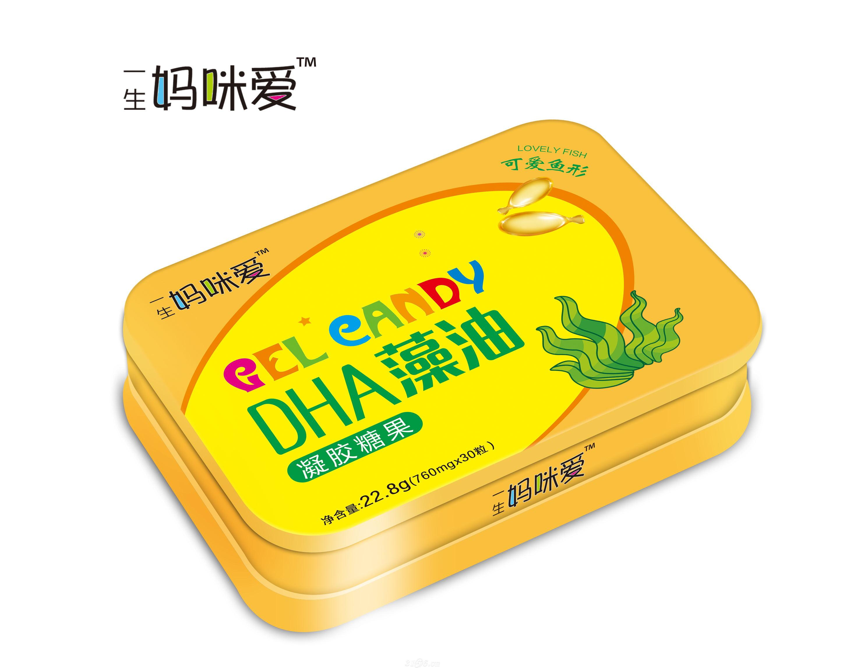 DHA藻油 凝胶糖果