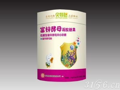 富锌酵母凝胶糖果